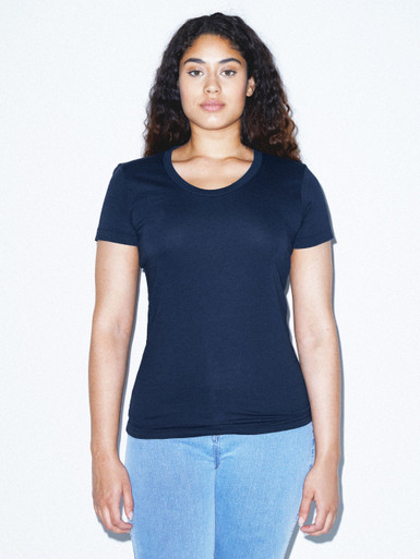 50/50 Classic Crewneck T-Shirt (Navy)
