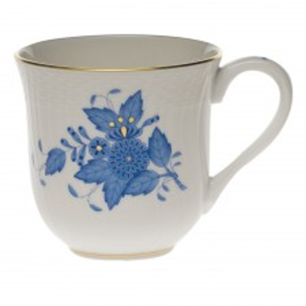 Herend Chinese Bouquet Blue Mug