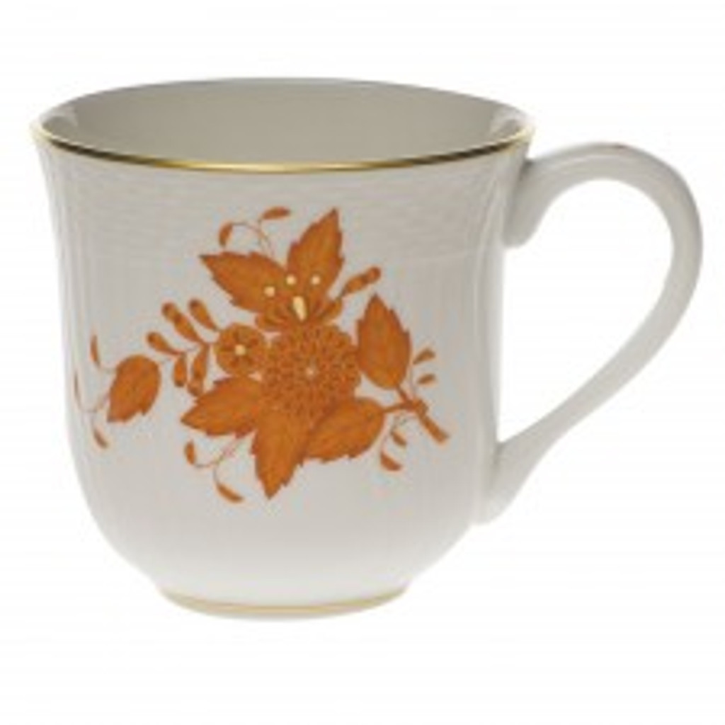Herend Chinese Bouquet Rust Mug