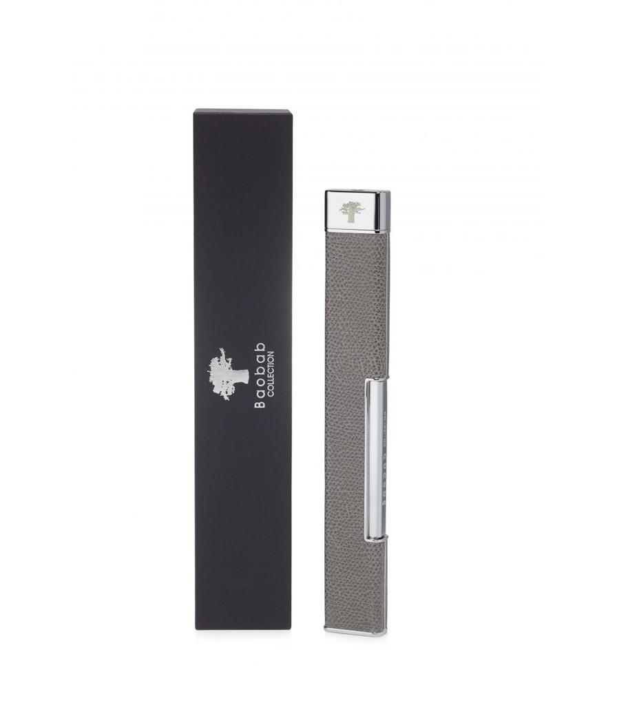Grey Leather Lighter