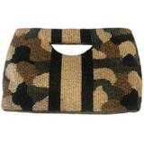 Olive Camo Handle Bag