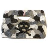 Pewter Skull Handle Bag