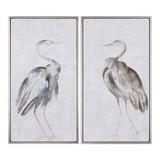 Summer Art Birds, Set of Two