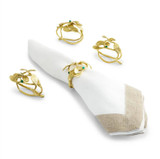 Mistletoe Napkin Ring Set of 4