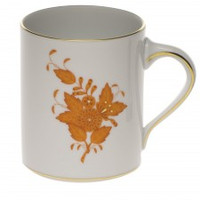 Chinese Bouquet Rust Coffee Mug