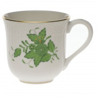 Herend Chinese Bouquet Green Mug