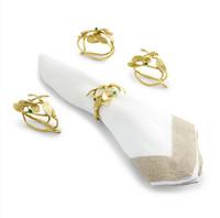 Mistletoe Napkin Ring Set of 4