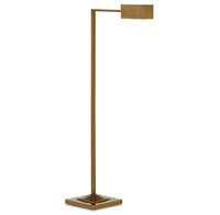 Library Brass Floor Lamp