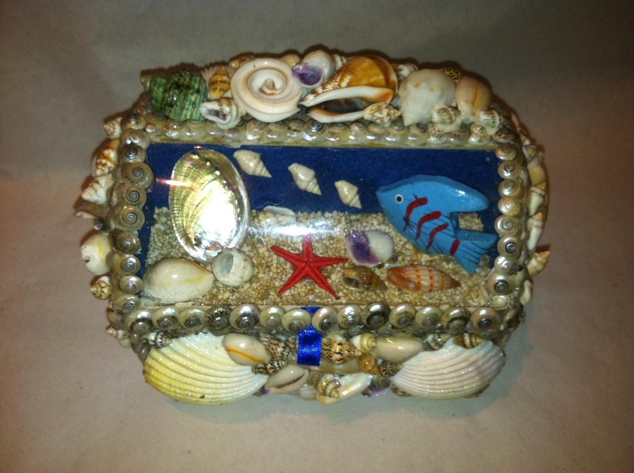 Jewelry Box with window