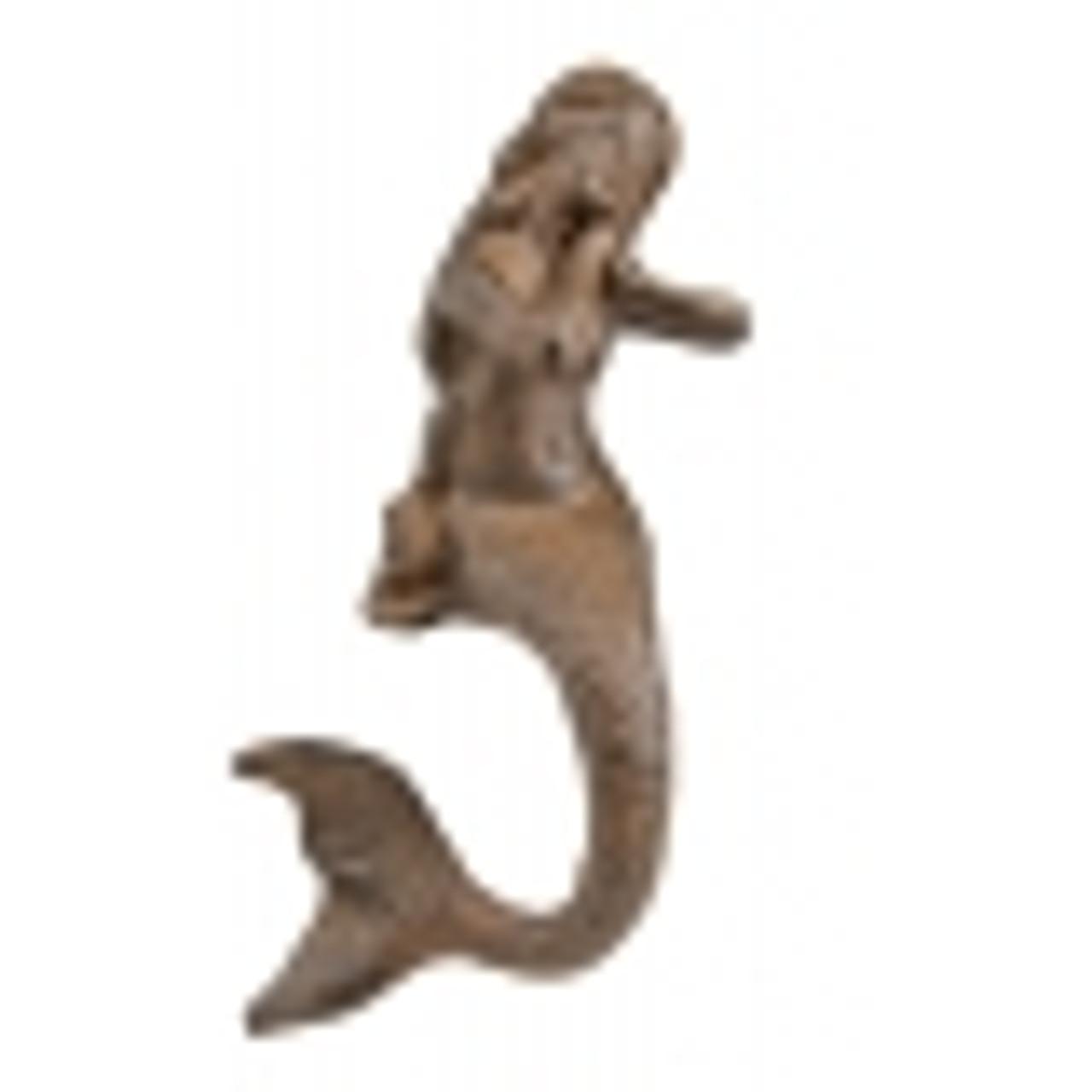 Mermaid Hook Large in Rust