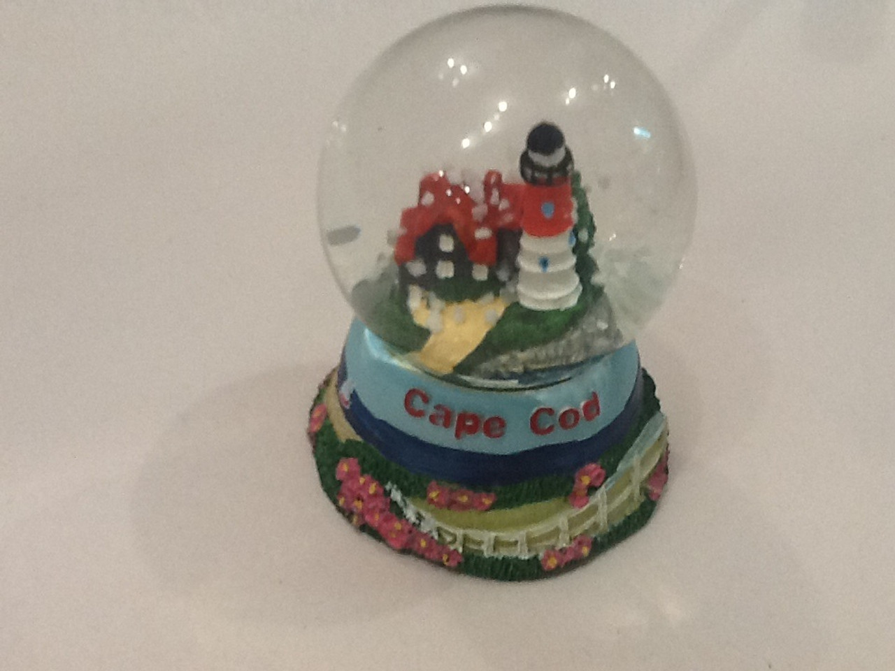 Highland Light House Snow Globe