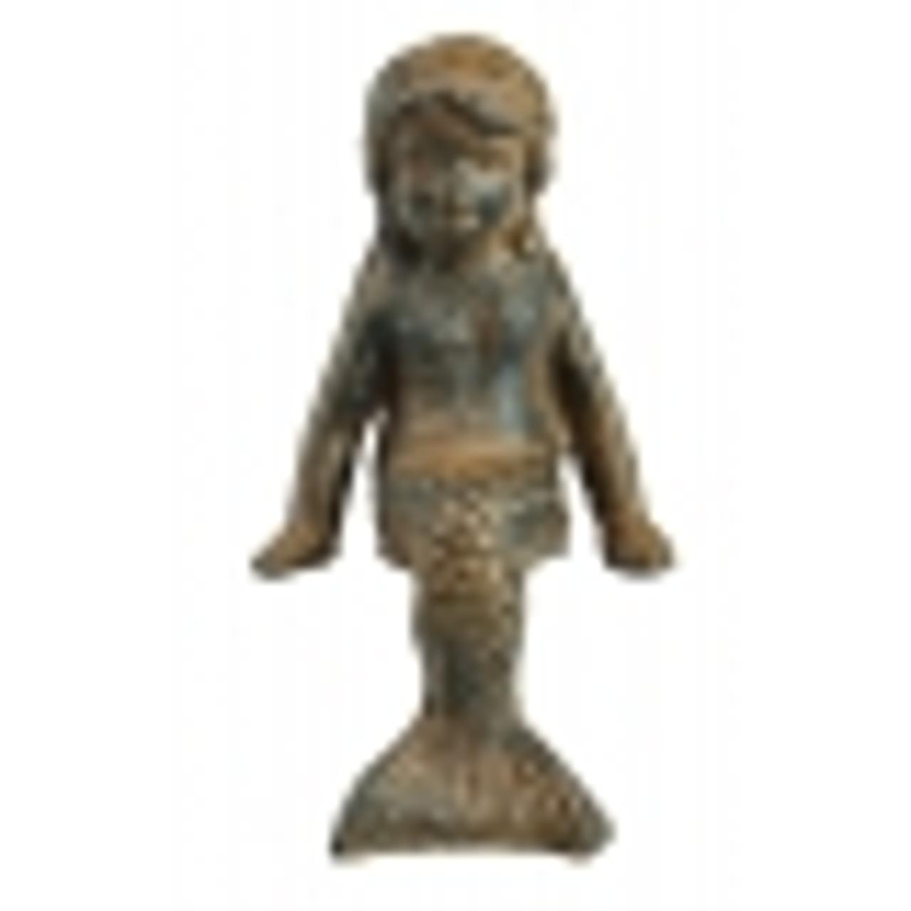 Sitting mermaid child