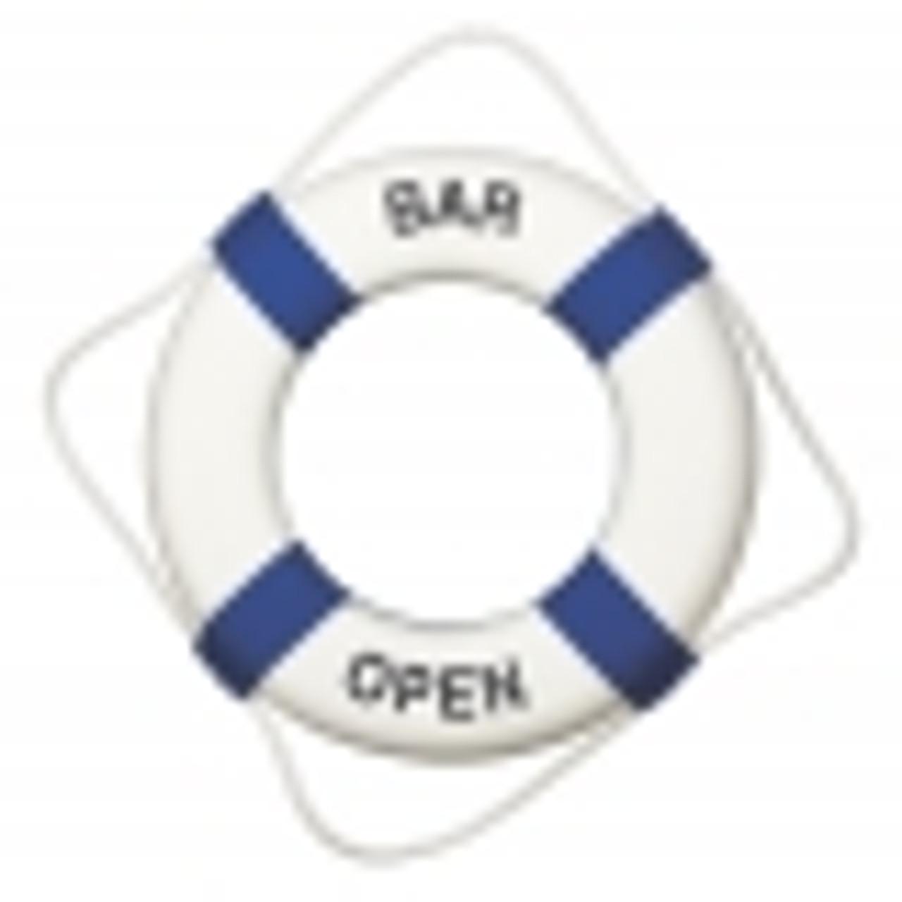 Bar Open Life Ring