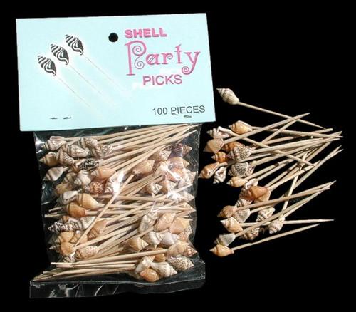 Shell Toothpicks 3 Packs