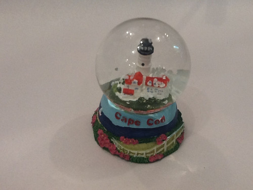 Chatham Light house Snow Globe