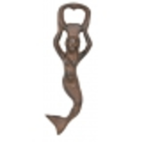 Mermaid Bottle Opener Rust