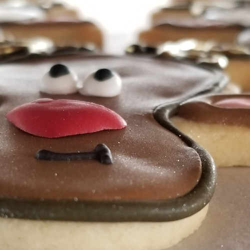 Reindeer Cookie - Custom Order