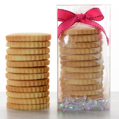 12 Sugar Shortbread Cookies