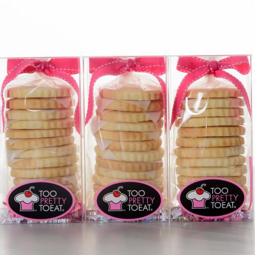 36 Sugar Shortbread Cookies