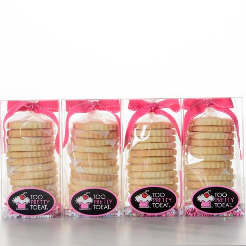 48 Sugar Shortbread Cookies