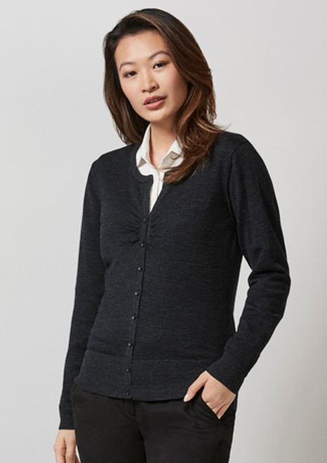 3028 Ladies Origin Merino Cardigan