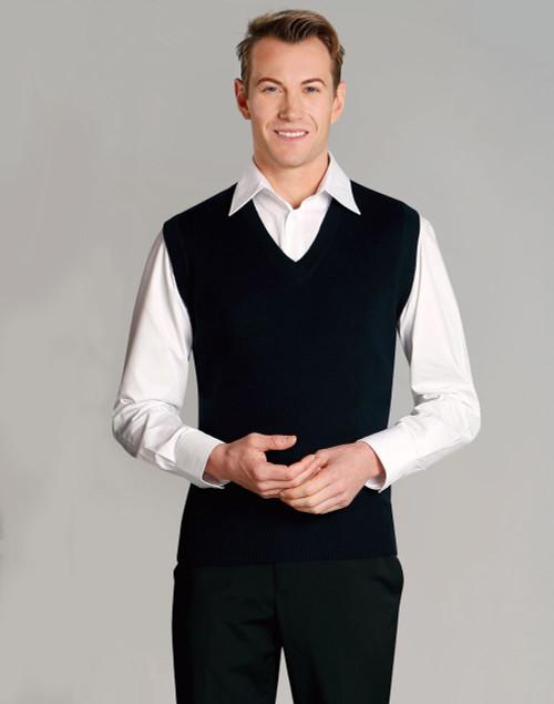 3053 Men's V Neck Knitted Vest