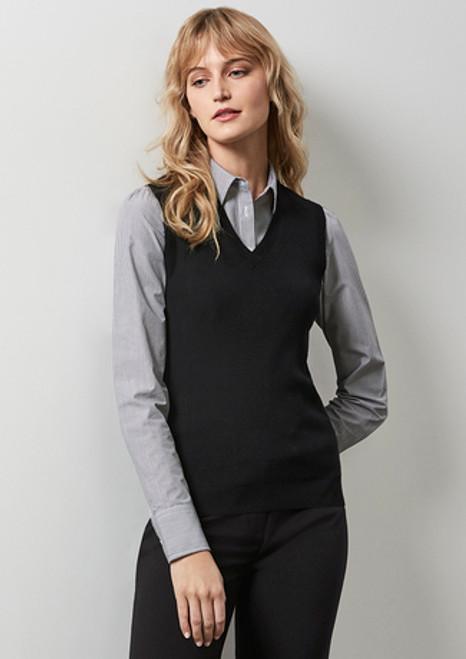 3074 Ladies Knitted Vest