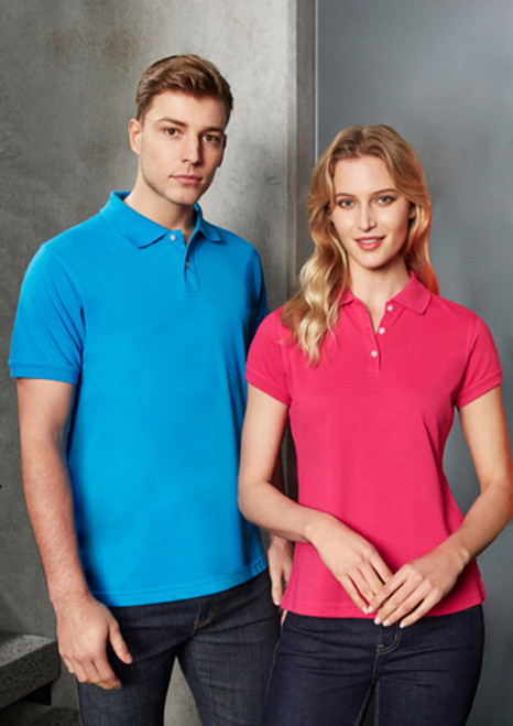 4052 Ladies Neon Polo