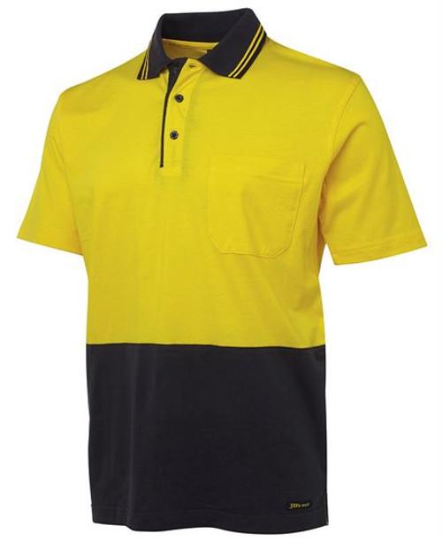 4121 Hi Vis Cotton Polo