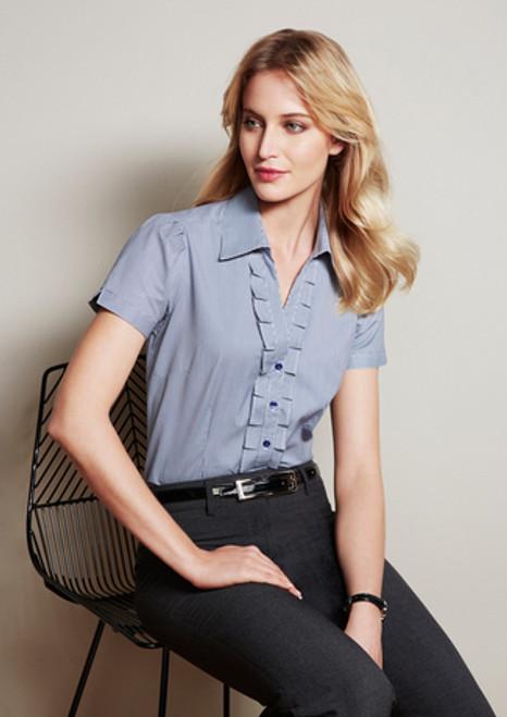 6067 Ladies Edge S/S Shirt