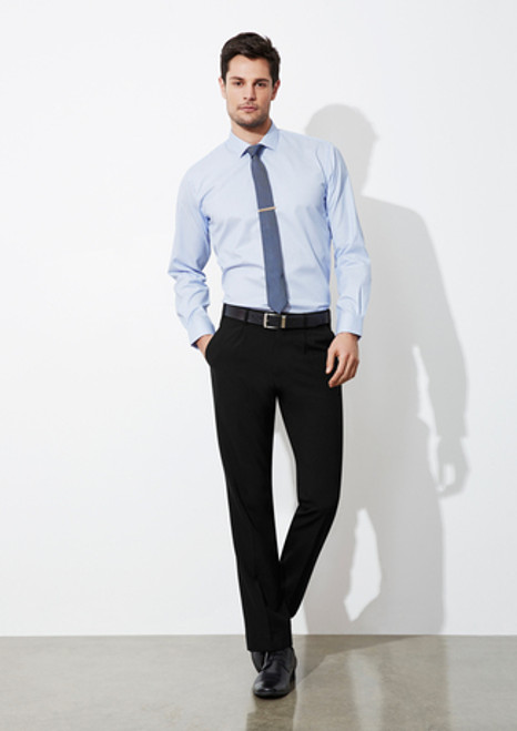 7018 Men's Classic Pleat Front Pants