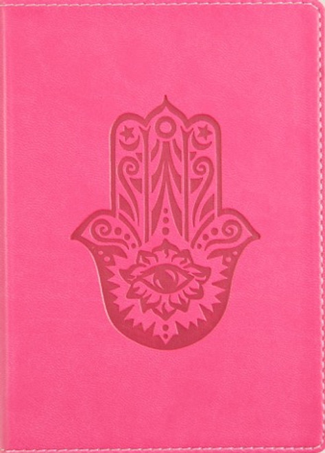 Small Lined Writing Journal with Hamsa
