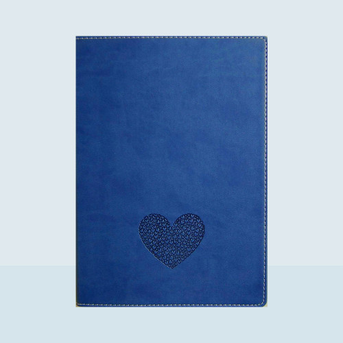 Medium Lined Writing Journal with Multiheart