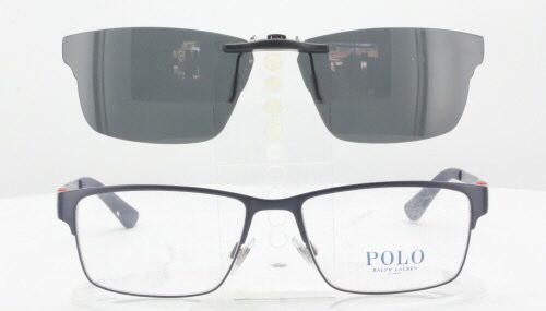 d3013f67 Polo Ralph Lauren PH1147-54X16 Polarized Clip-On Sunglasses