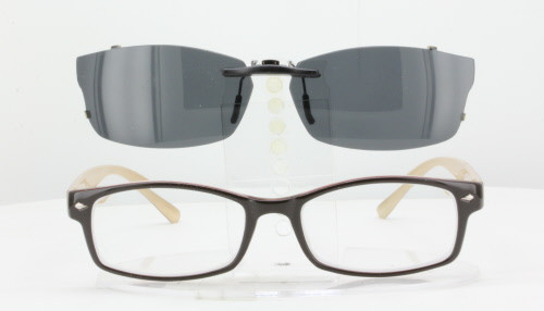 61b02a94efbe Our clip-on sunglasses will make your prescription eyeglasses appear like  another pair of prescription
