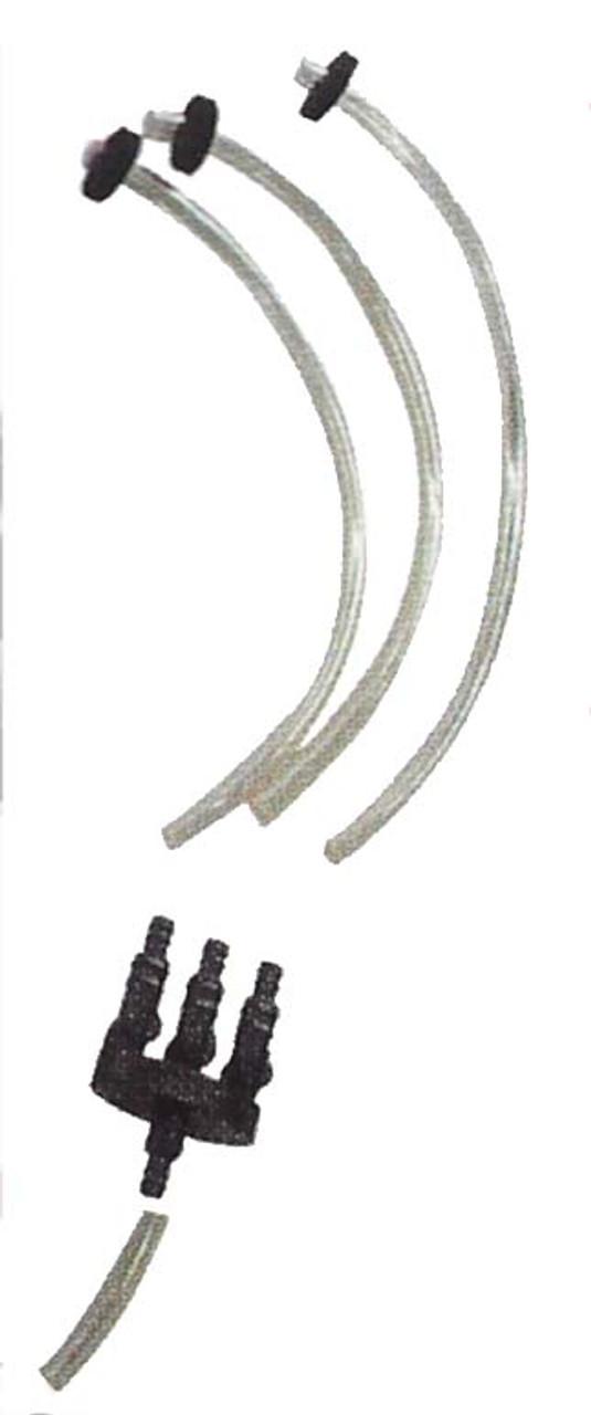 Manifold Splitter and plumbing kit for each basalt fountain.