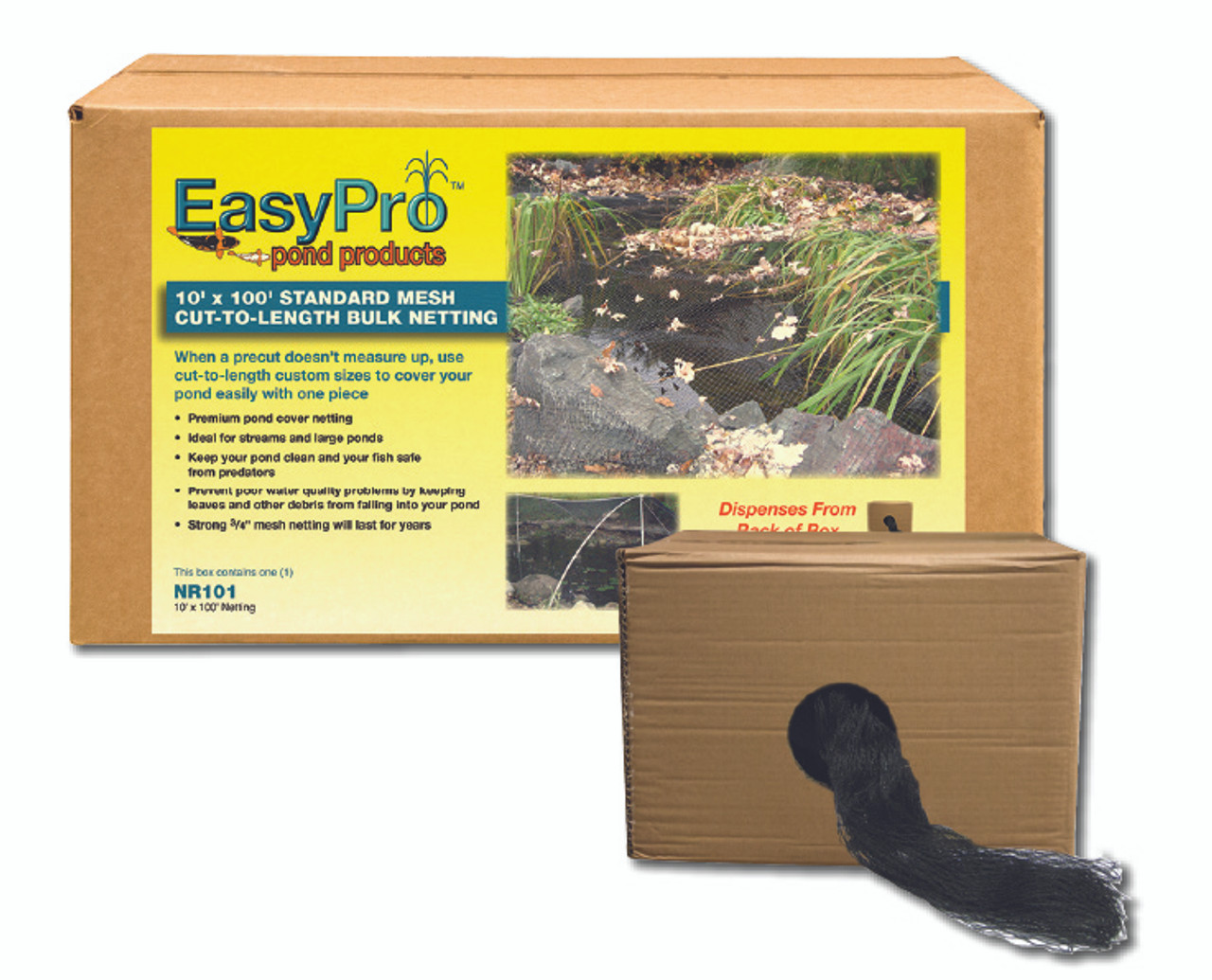 3/4-in. EasyPro Pond Cover Netting - Boxed