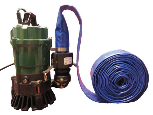 1 HP Submersible Trash Pump - 5700 gph