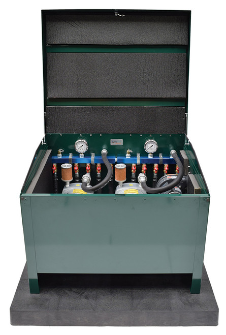 Large Lockable Steel Cabinet