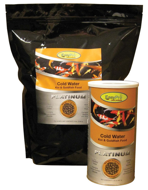 EasyPro Platinum Cold Weather (Wheat Germ) Food is ideal for feeding during colder periods of the year.