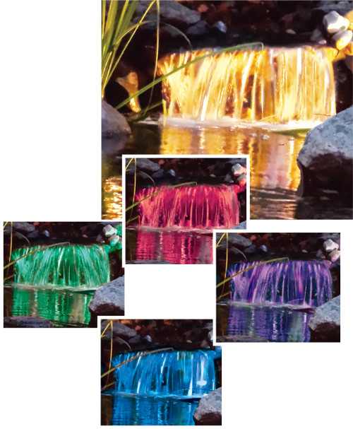 EasyPro Color Changing Fountain Light with Pigtail Quick Connect - 17 watts