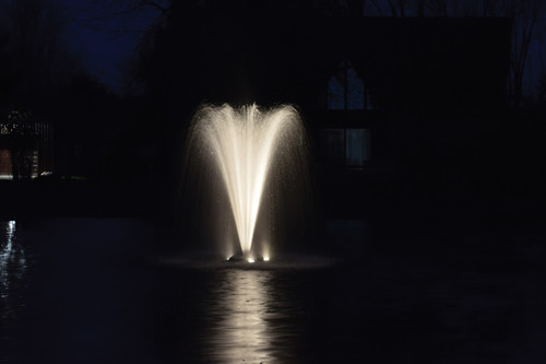 Stainless Steel LED Warm White Light Kits for Fountains