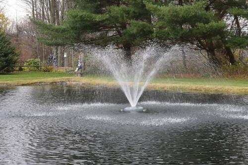 Floating Fountain Head w/ Wide Umbrella Nozzle
