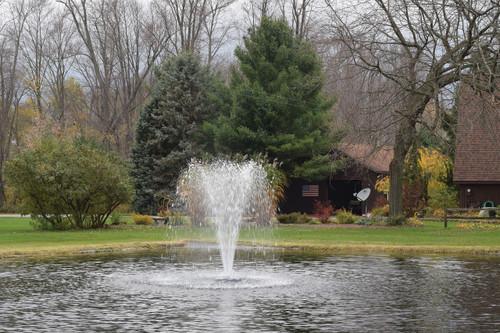 Floating Fountain Head w/ Narrow Umbrella Nozzle