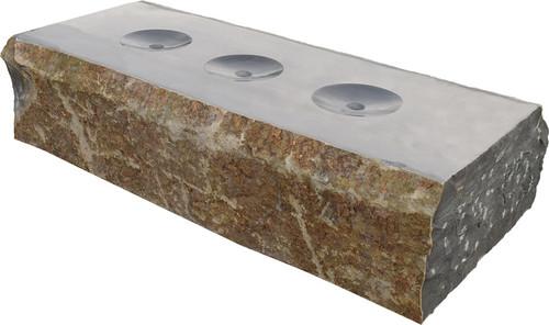 Tranquil Decor Triad  Basalt  Fountain