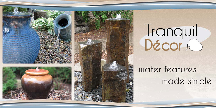 Pond ountains and Water Features Made Simple