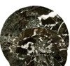 "PBZL, Black Zebra Marble 10"" Plate by Nature's Expression, Free Shipping, MSRP ($60.00)"