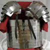 AB0006, 18 Gauge Steel Roman Lorica by SAY, Free Shipping, MSRP ($269.00)