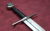 SH2034, Albrecht II  Hand And A Half Sword by Hanwei Forge, MSRP ($415.00), 1566 Hand Forged High Carbon