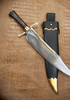 IP201, Musso Bowie Knife by Legacy Arms & Generation 2, Free Shipping, MSRP($328.95), 5160 High Carbon Steel Blade